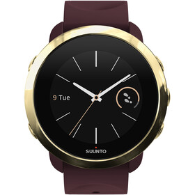 Suunto 3 Fitness Watch, burgundy